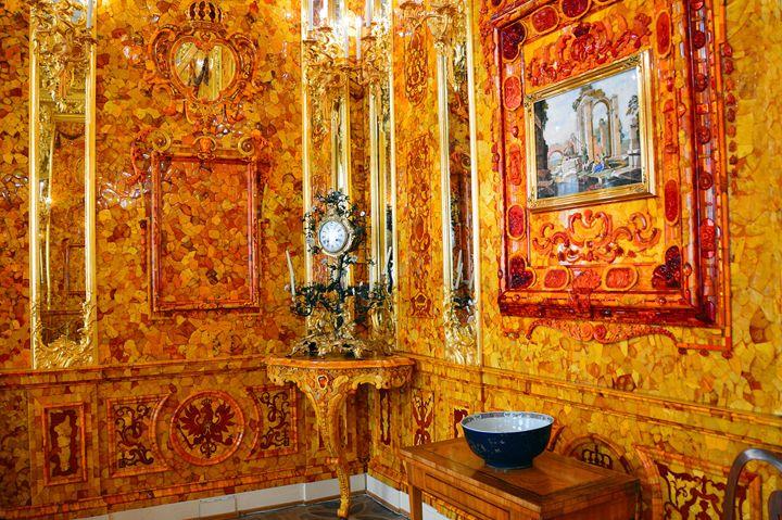 Amber Room at Catherine Palace - Catherine Sherman