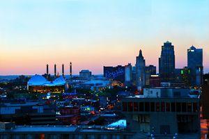 Kansas City Downtown at Sunset - Catherine Sherman