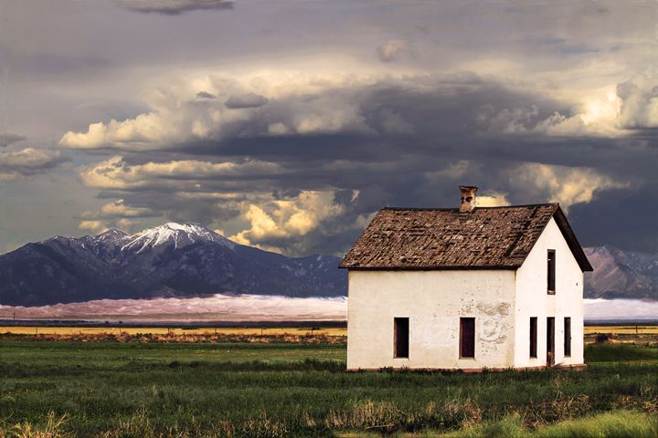 Old House at the Great Sand Dunes - Catherine Sherman