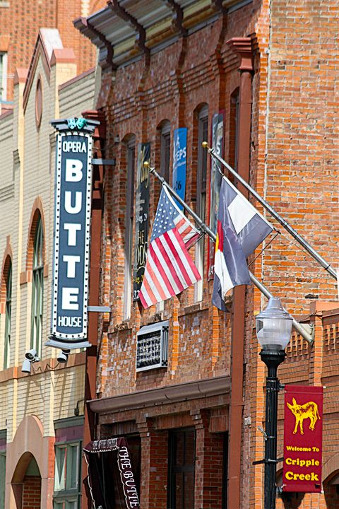 Butte Opera House, Colorado - Catherine Sherman