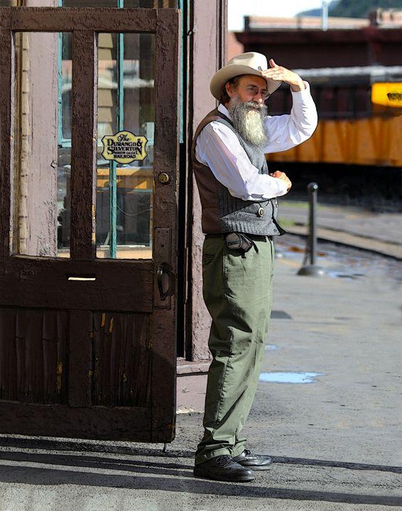 Watching for the Durango Train - Catherine Sherman