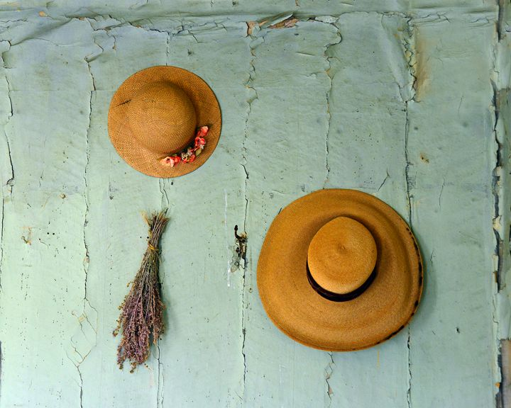 Old Straw Hats - Catherine Sherman