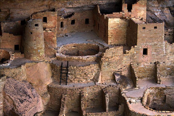 Cliff Palace at Mesa Verde, Colorado - Catherine Sherman