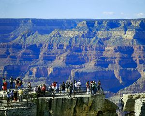 Grand Canyon Tourists - Catherine Sherman
