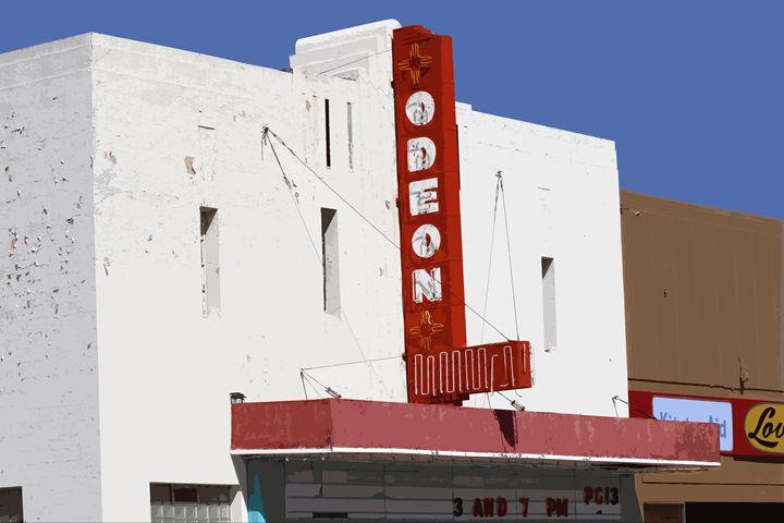 Odeon Theater, Tucumcari, N.M. - Catherine Sherman