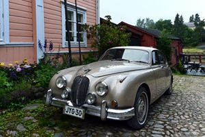 Vintage Car in Porvoo, Finland - Catherine Sherman