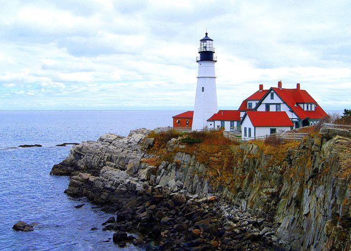 Portland Head Light House, Maine - Catherine Sherman