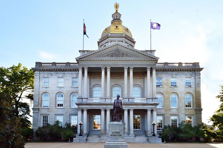 New Hampshire State House - Catherine Sherman