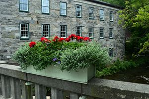 Bridge Flower Box in Vermont