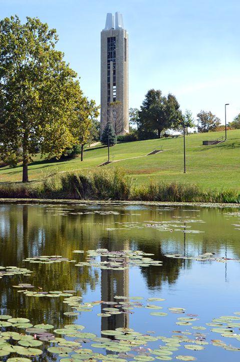 Campanile, the University of Kansas - Catherine Sherman