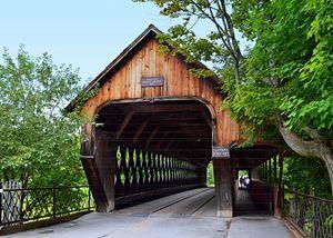 Woodstock Middle Covered Bridge - Catherine Sherman