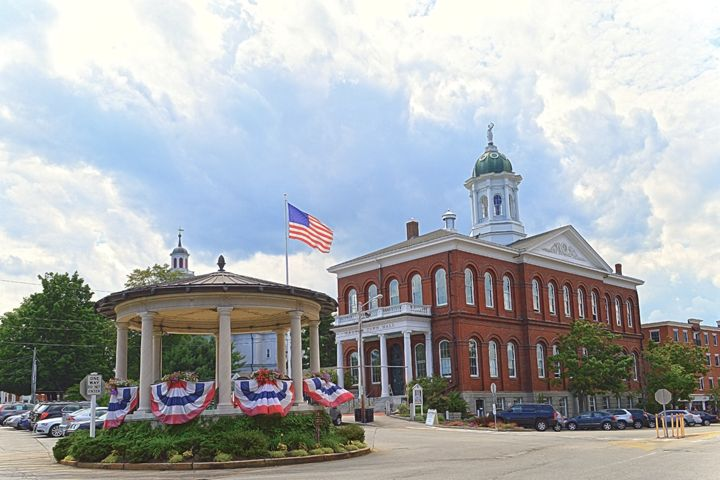 Exeter, New Hampshire, City Hall - Catherine Sherman