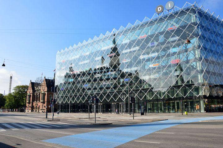 Copenhagen City Hall Reflection - Catherine Sherman