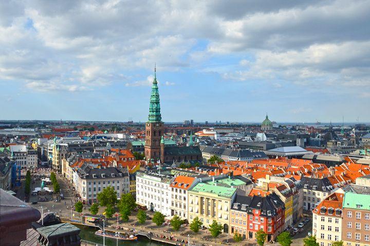 Christiansborg Palace Tower View - Catherine Sherman