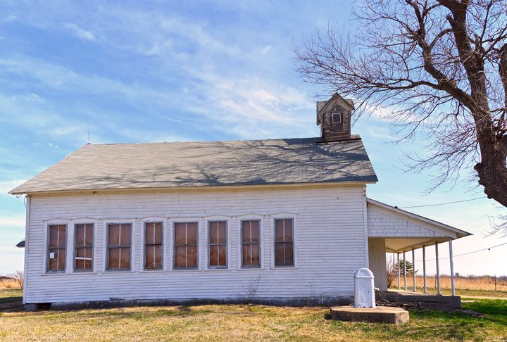 Cottonwood One Room School, Kansas - Catherine Sherman