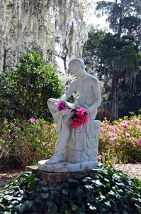 Wood Nymph Statue, Middleton Place - Catherine Sherman