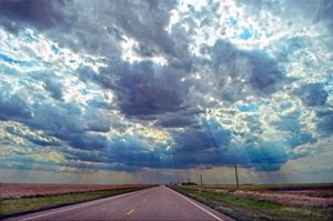 Coming Storm in Western Kansas - Catherine Sherman