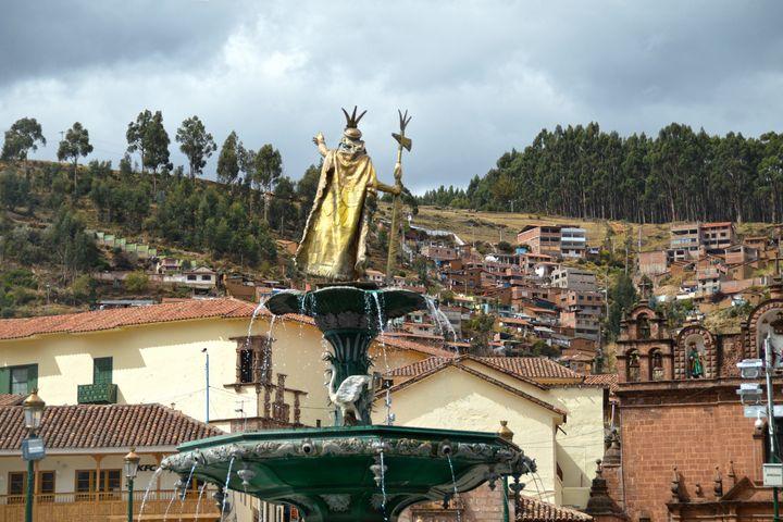 Pachacuti Statue in Cusco, Peru - Catherine Sherman