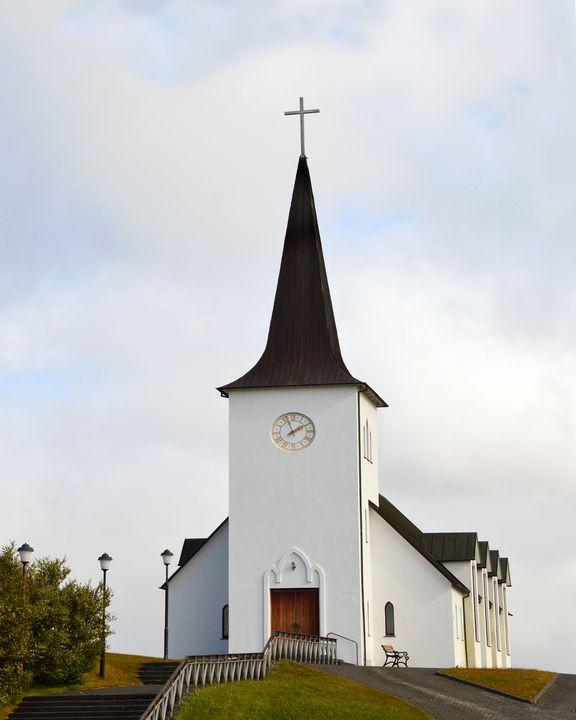 Borgarnes Church, Iceland - Catherine Sherman