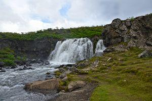 Fossarrett Falls, Iceland