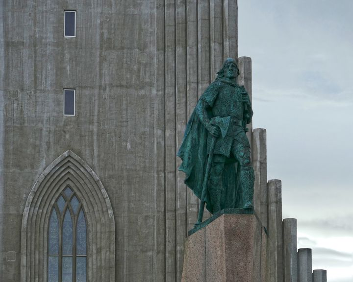 Leif Erickson Sculpture - Catherine Sherman