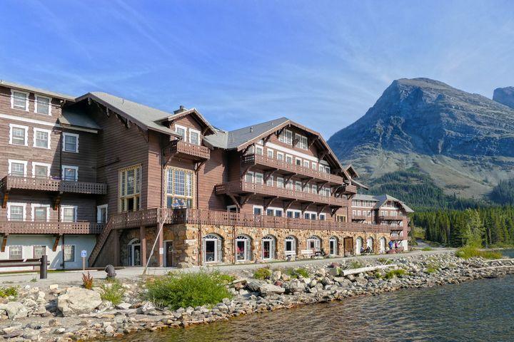 Many Glacier Hotel, Montana - Catherine Sherman