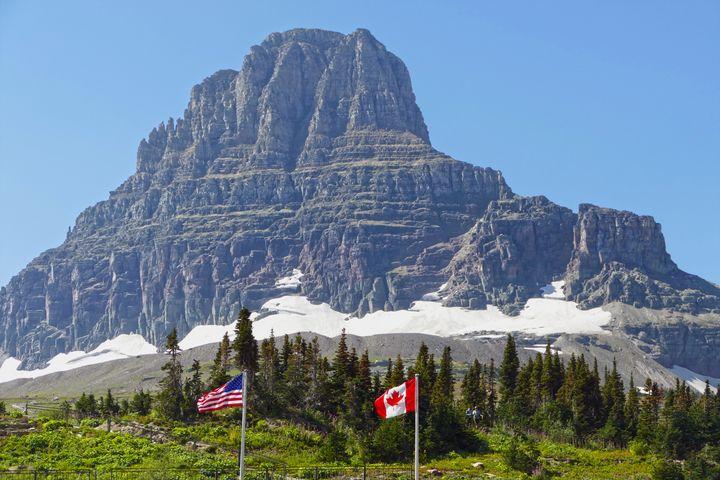 Flags, Logan Pass, Montana - Catherine Sherman