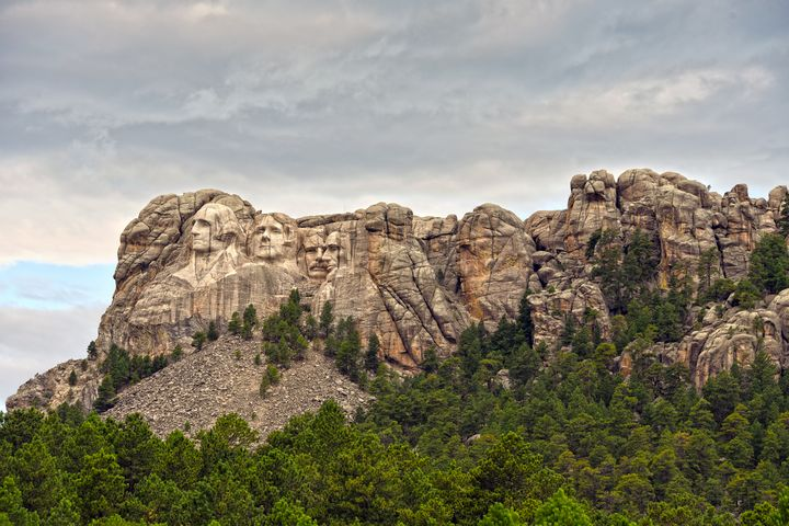 Mount Rushmore Panorama - Catherine Sherman