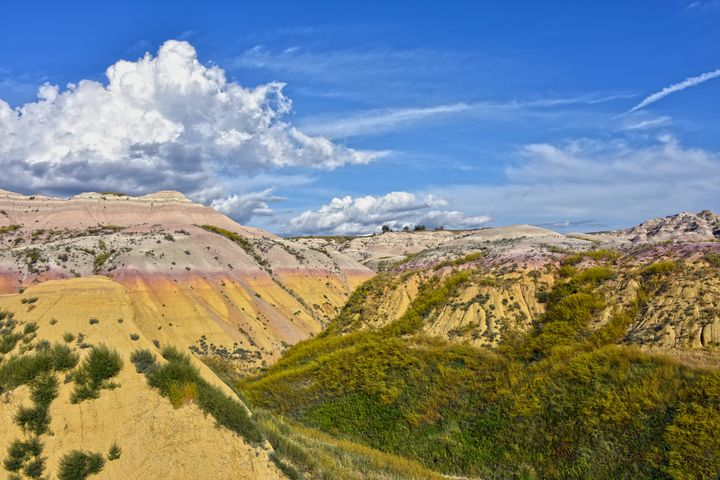 Yellow Mounds Badlands National Park - Catherine Sherman