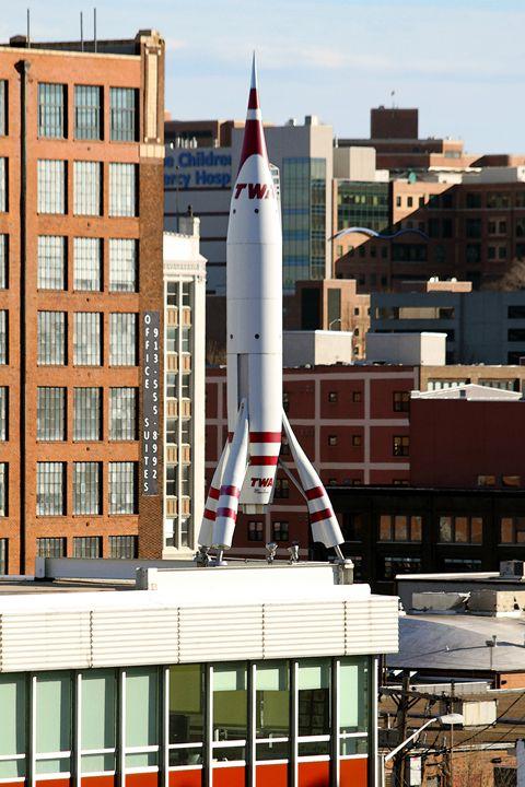 Kansas City Moonliner Rocket - Catherine Sherman