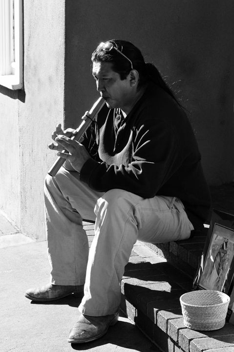 Santa Fe Flute Player - Catherine Sherman