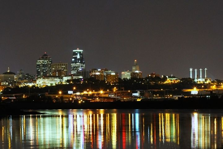 Reflections at Kaw Point Kansas City - Catherine Sherman