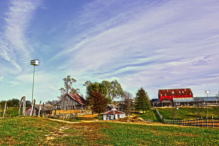 Missouri Farm in the Autumn - Catherine Sherman