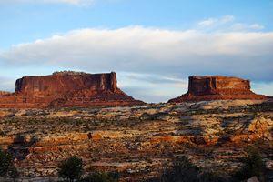 Merrimac and Monitor Mesas, Utah - Catherine Sherman