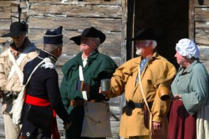 Whiskey Ration at the Old Fort - Catherine Sherman
