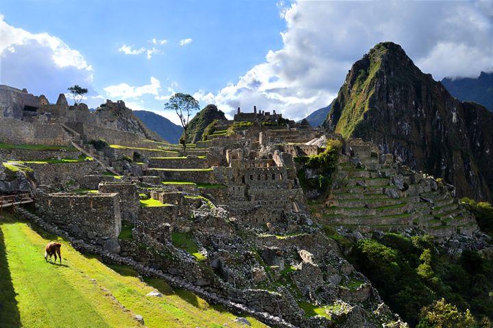 Machu Picchu, Peru, East Side - Catherine Sherman