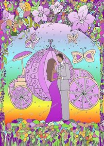 Fairytale Love Art Print