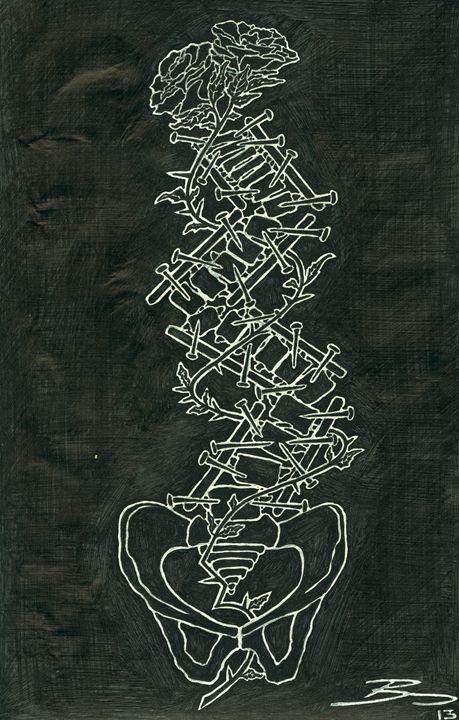 """Reconstructing Back-Bone"" - Art By Bully"
