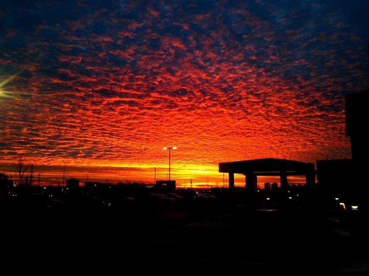Fire In The Sunset - B Rittenhouse