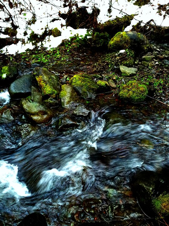 Rushing Water - B Rittenhouse