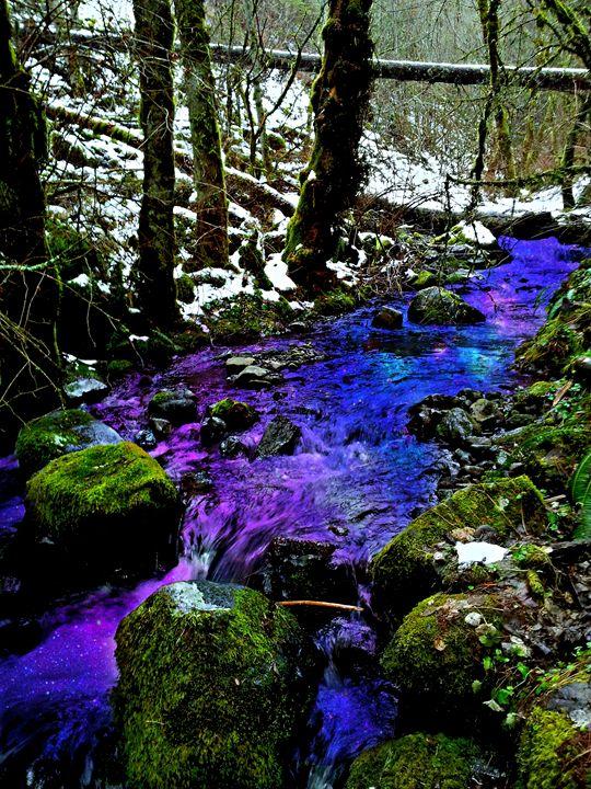 Purple Water - B Rittenhouse