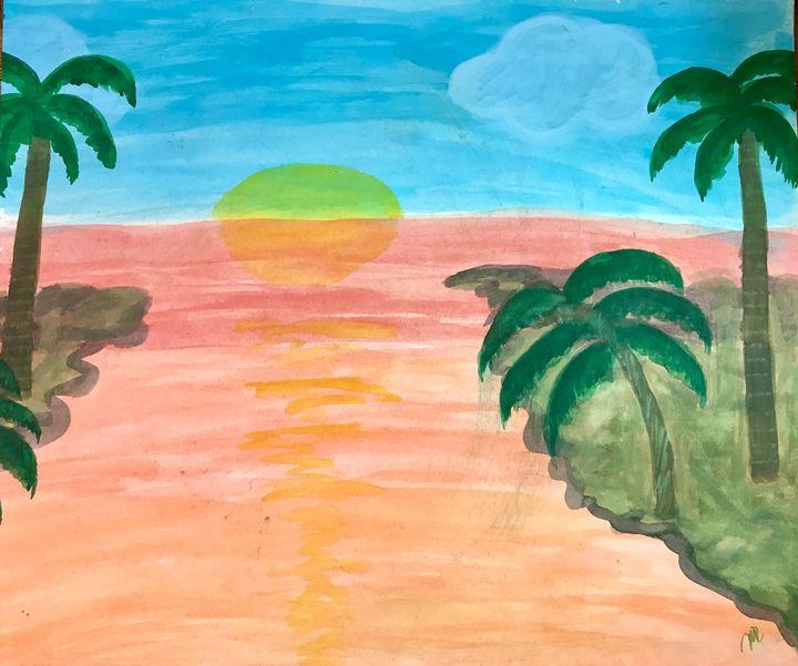 Ocean - Marzy's Art