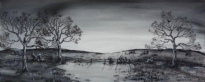 Wet Lands. - Kenneth Clarke Artist.