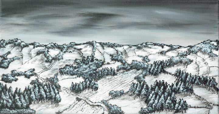 Winter Wonderland. - Kenneth Clarke Artist.