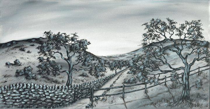 Rural Trail 3. - Kenneth Clarke Artist.