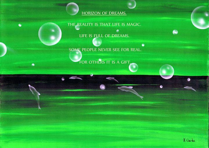Horizon Of Dreams. - Kenneth Clarke Artist.