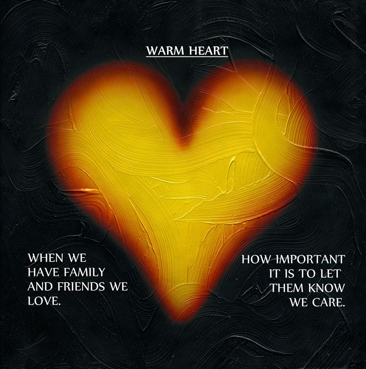 Warm Heart. - Kenneth Clarke Artist.