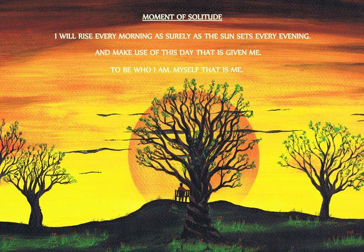 Moment Of Solitude. - Kenneth Clarke Artist.