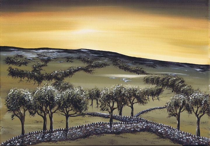 Horizon. - Kenneth Clarke Artist.