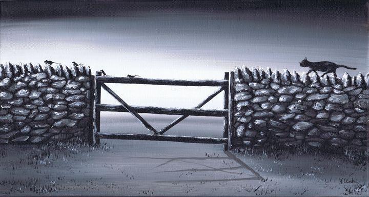 Escape Plan. - Kenneth Clarke Artist.